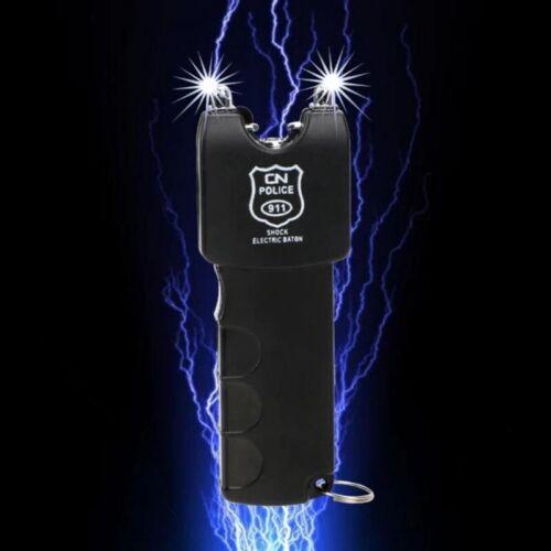 Electro Shocker SelfDefense Electric Shock Wand LED Flashlight Woman Massage TOY