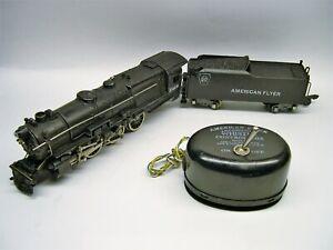 314AW-American-Flyer-Pennsylvania-K-5-Loco-amp-Whistling-Tender-Lot-UU10-L43