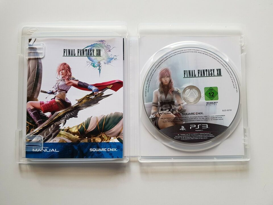 Final Fantasy XIII, PS3