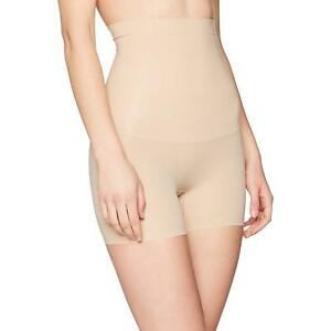 Spanx Womens Shape My Day High Waisted Girl Shorts Natural