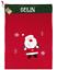 thumbnail 13 - PERSONALISED CHRISTMAS SANTA SACK. EMBROIDERED NAME. GIFT SACK. LARGE, STOCKING