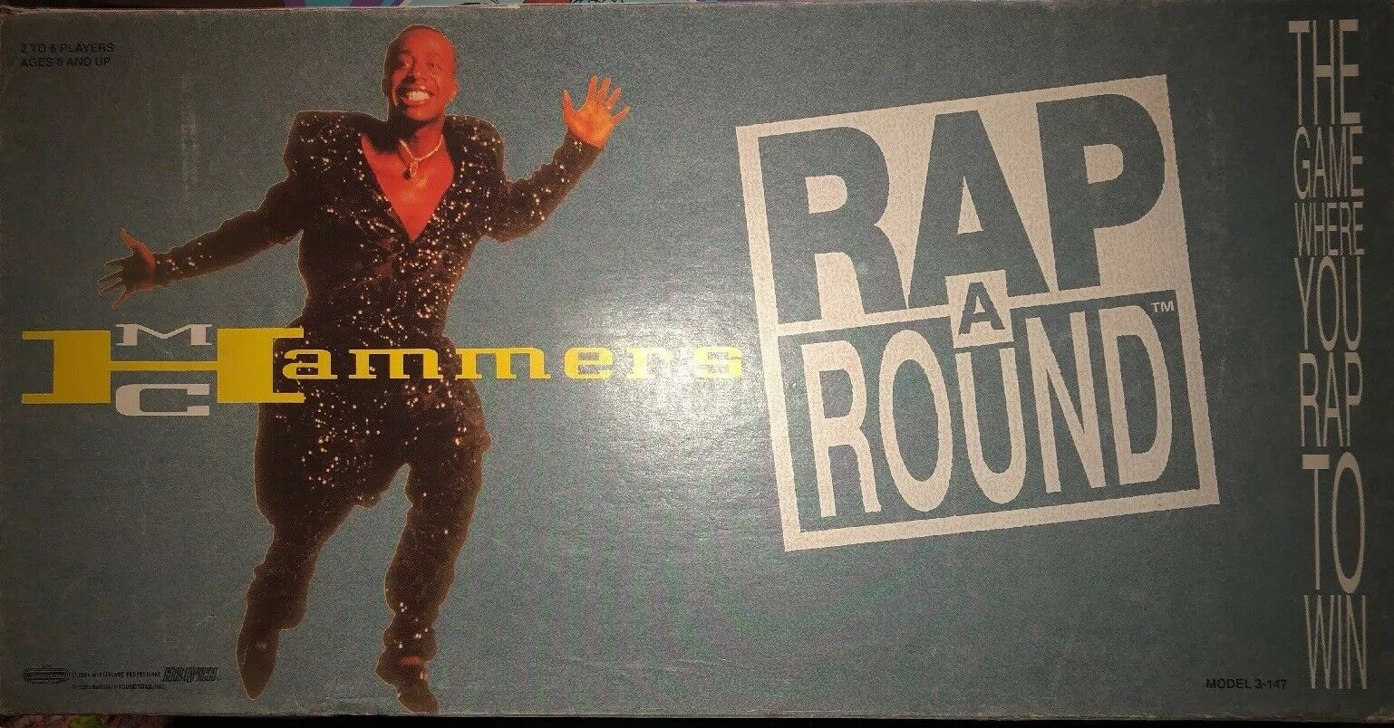 Vintage MC Hammer Rap a Round 1991 Extremely Rare