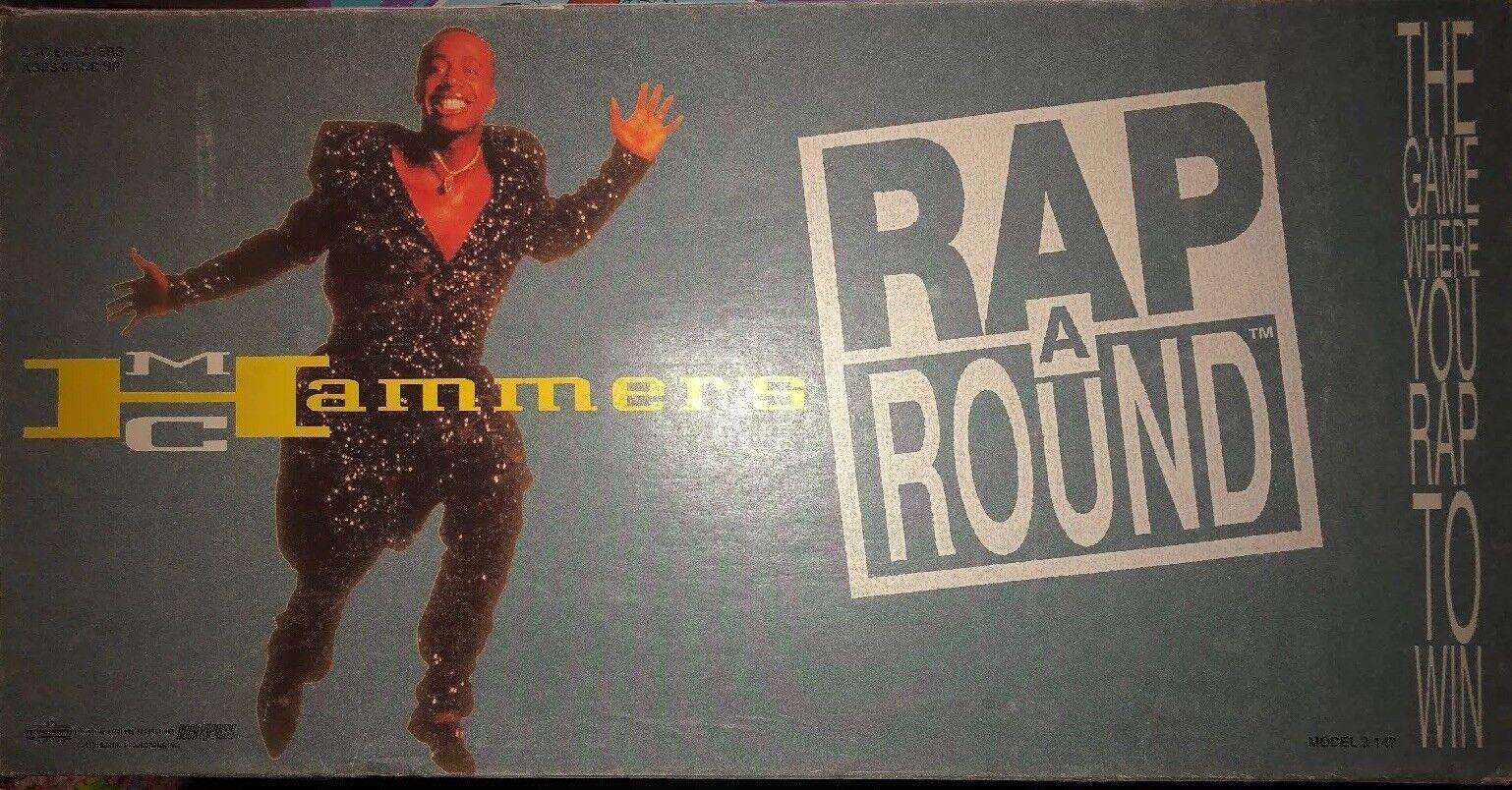 Vintage MC Hammer Rap a  Round 1991 Extremely Rare   alta quaità