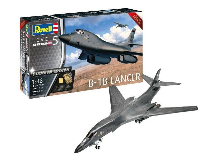 Revell 04963 Revell B-1B Lancer Platinum Edition Nuevo Ovp