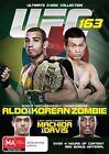 UFC #163 - Aldo Vs Korean Zombie (DVD, 2013, 2-Disc Set)