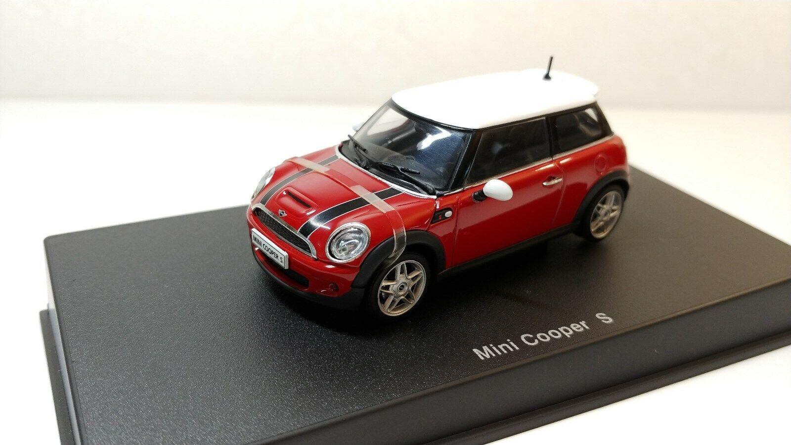1 43 AUTOART, Mini Cooper  S (Rouge)  liquidation de la boutique