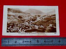 CHROMO PHOTO CHOCOLATERIE DE ROYAT 1930-1939 SAINT PIERRE D'ENTREMONT ISERE