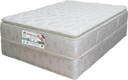 Queen Pocket Spring & LATEX GOLD Pillow Top Mattress S1
