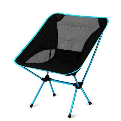 Travel Ultralight Folding Chair Garden Portable Beach Barbecue Fishing Tools S3