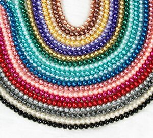 Glass-Pearl-Beads-4-6-8-10-12mm-Buy-3-Get-3-Free-Jewellery-Making-Crafts