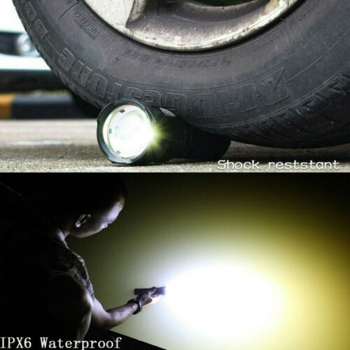 Super hell 90000lm Taschenlampe LED P70 Taktisches Fackel USB 5000mAh Batterie