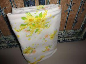 Morgan jones vintage flower song bouquet floral yellow 70s twin image is loading morgan jones vintage flower song bouquet floral yellow mightylinksfo