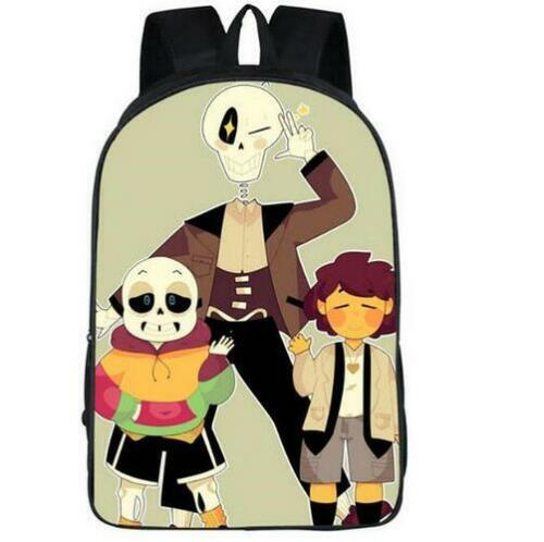 New Anime Undertale Vegeta Son Girls Boys School Backpack Kids