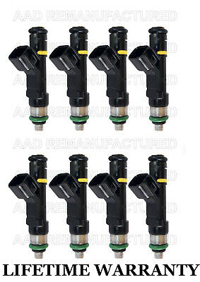 Set 8 Genuine BOSCH Fuel Injectors for 2007-2010 Ford F-Series 5.4L #0280158138
