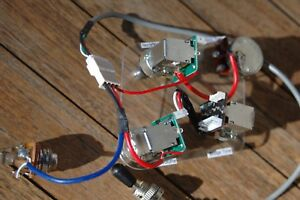 epiphone les paul pro wiring harness coil split and phase shift push