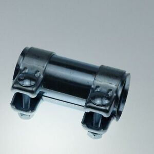 Rohrverbinder-Auspuff-Rohr-Verbinder-45mm-Laenge-90mm