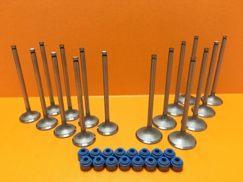 09-15 Corolla Matrix 1.8L 2ZRFE Intake /& Exhaust Valve Kit Stem Seals