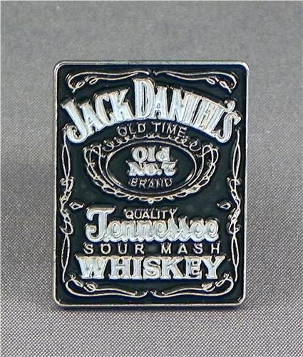 Metal Enamel Pin Badge Brooch Jack JD Whiskey