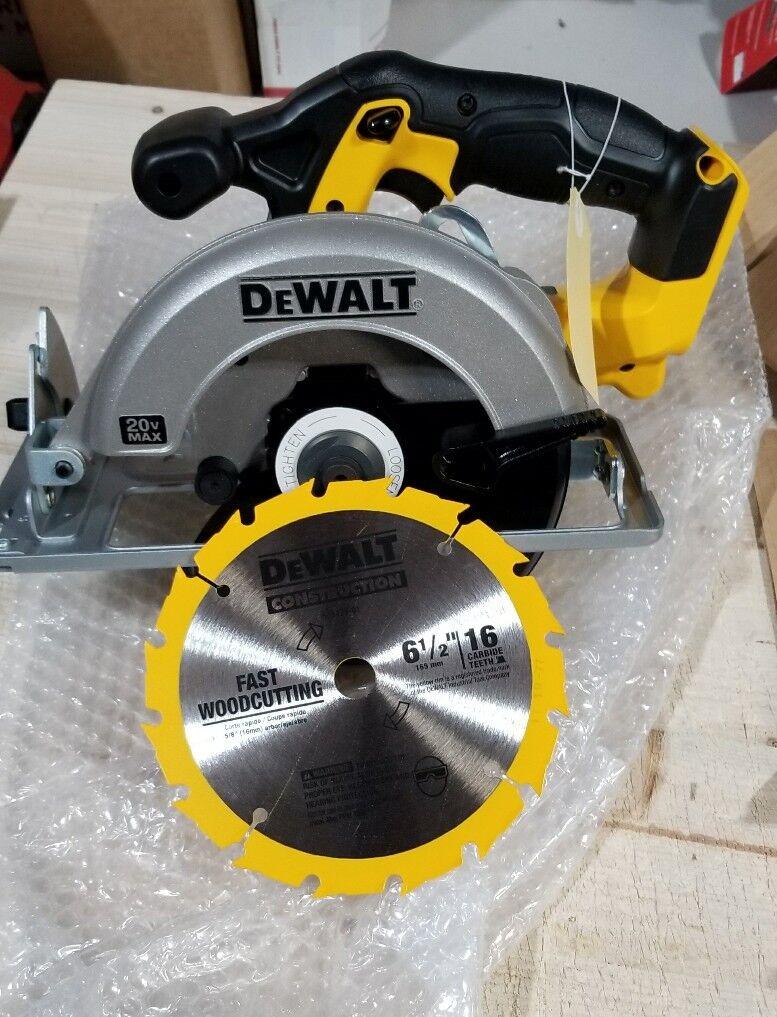 New Dewalt DCS393B 20V 20 Volt Max 6-1/2