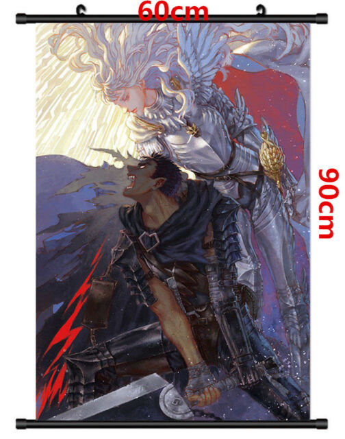 T688 Hot Fighting Berserk Kentaro Miura Japanese Anime Silk Poster Art Decor