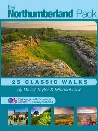 The Northumberland Pack 25 Classic Walks by David Taylor 9781906571030