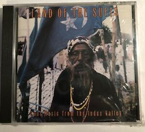 Brand-New-CD-LAND-of-the-Sufis-Soul-Music-the-Indus-Valley-Various-Artists