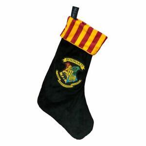 Harry-Potter-Hogwarts-Crest-Christmas-Xmas-Novelty-Stocking-Retro-Decorations