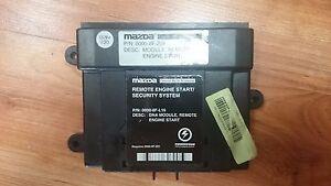Mazda Remote Start >> Details About Mazda Remote Start Module 0000 8f Z01