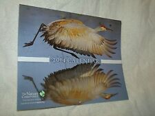 New Cond. Nature Conservancy 2014 Calendar Natural World Vistas Mb