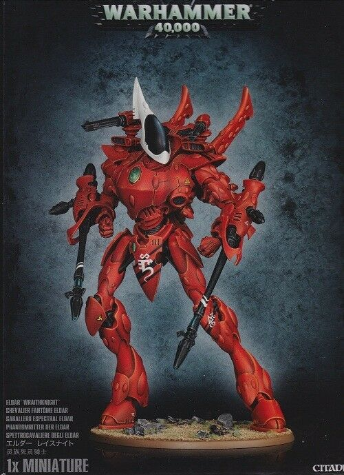 ELDAR Wraithknight Games Workshop Warhammer 40.000 40k phantomritter 46-25