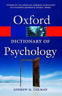 A Dictionary of Psychology by Andrew M. Colman (Paperback, 2006)