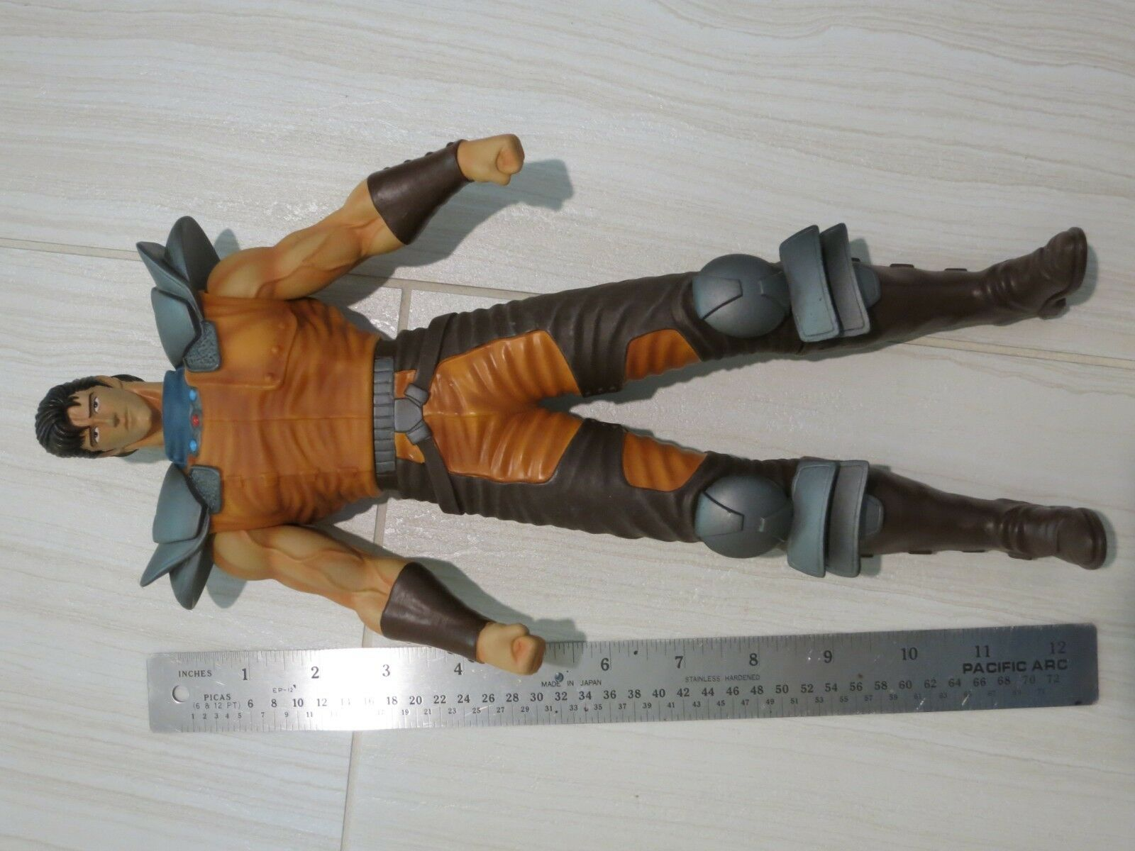 SEGA Fist of the North stjärna Hokuto no Ken High kvalitet 13 tum Action Figur leksak