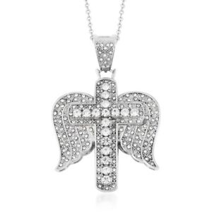 Chain-Pendant-Necklace-Stainless-Steel-Gift-Jewelry-for-Women-Size-20-034-Ct-3