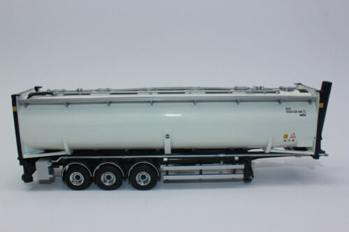 Tekno 71416  40ft Silocontainer mit Fahrgestell grau   1:50 NEU in OVP