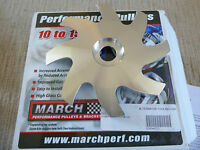 March Performance Gm-ford Alternator Fan Alloy