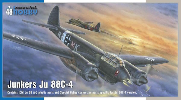 Special Hobby 1 48 Junkers Ju-88C-4 Night Intruder