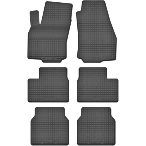 3 Reihen Gummimatten Fußmatten 1.5 cm Rand  OPEL ZAFIRA A 1999-2005 6-teile Set