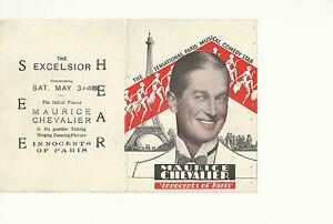 INNOCENTS-OF-PARIS-1929-MAURICE-CHEVALIER-ORIINAL-PRESSBOOK-HERALD