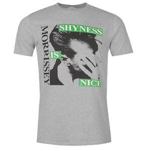Oficial-de-cuello-redondo-para-hombre-Morrissey-camiseta-manga-corta-impresion