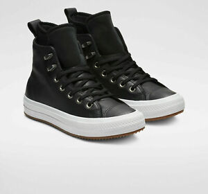 converse chuck taylor all star waterproof leather hight top