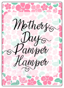 Mothers-Day-Pamper-Hamper-Large-Stickers-Letterbox-Postal-Sweets-Party-Bag-Cone