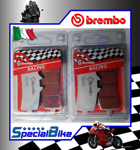 BREMBO SC RACING BRAKE PADS 2 SETS FOR TRIUMPH SPEED TRIPLE S 1050 2016 />