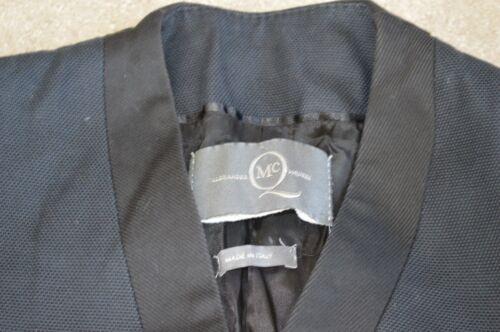 Navy Up Uk Blue It Womens Mcqueen Coat Jacket 40 Alexander Hook 8 Trench Cotton pHx5IcwcqC