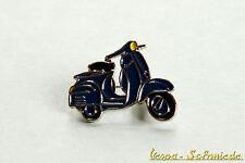 "VESPA Piaggio Pin / Anstecker ""150 Super '65"" - Blau -1965 GL Sprint Dunkelblau"