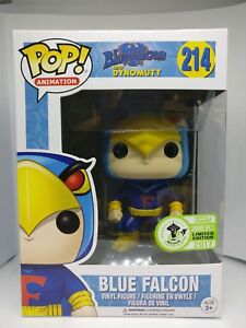 Funko Pop!   214 Blue Falcon Exclusive Limited Émeraude Comicon 3000pcs