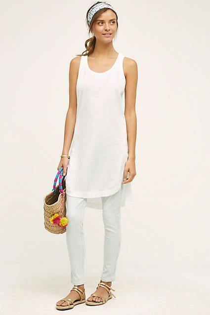 NWT Anthropologie Sliced Tunic Dress By Left Of Center Sz. Large