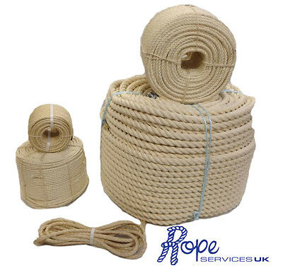 New Natural Sisal Rope Coils, Cats, Garden, Decking, Pets, Cat Scratching Post