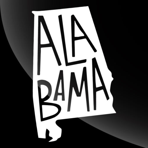 Alabama AL State Pride Decal Sticker TONS OF OPTIONS