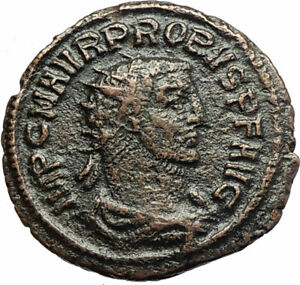 PROBUS-w-Woman-Ancient-280AD-Genuine-Authentic-Roman-Coin-from-Antioch-i76677