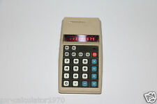 VINTAGE COMMODORE CALCULATOR RED LED 1974 887ND MADE IN HONG KONG
